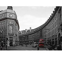 Red London Bus 1 Photographic Print