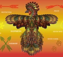 Sacred Symbols and Thunderbird by saleire