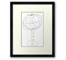 The Spinning World Framed Print
