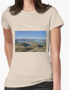 Autumn landscape Womens Fitted T-Shirt