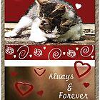 Kittens Valentine by Terri Chandler