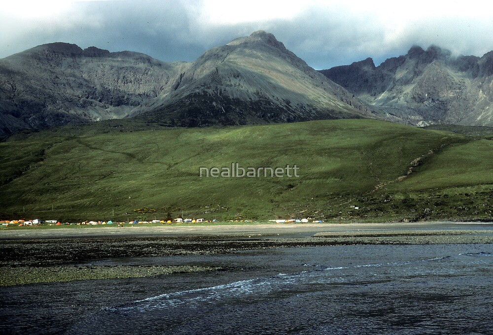 Camping under the Cuillins by nealbarnett