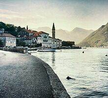 Perast by Milos Markovic