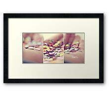 i will give you my hearts. Framed Print