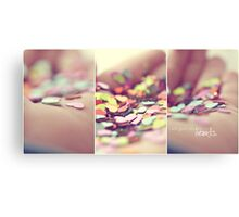 i will give you my hearts. Canvas Print