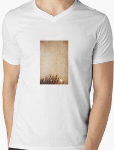 March Sky Mens V-Neck T-Shirt