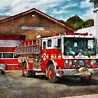 Fireman - Union Fire Company 1  by Mike  Savad