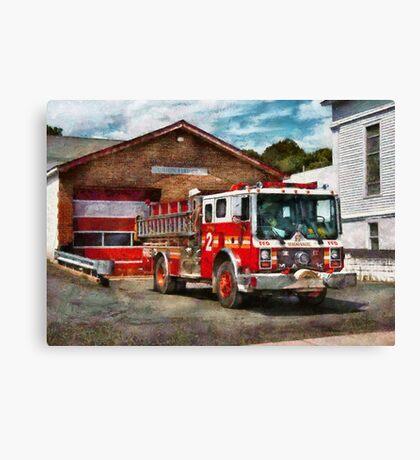 Fireman - Union Fire Company 1  Canvas Print