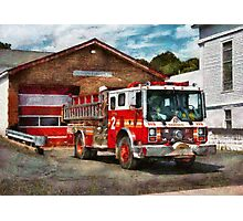 Fireman - Union Fire Company 1  Photographic Print