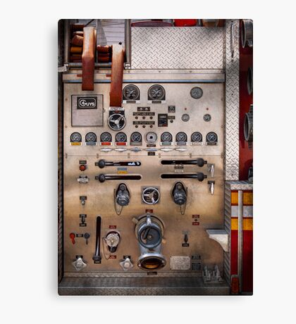 Fireman - For guys only  Canvas Print