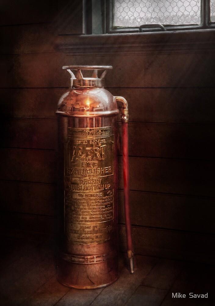 Fireman - Alert  by Mike  Savad