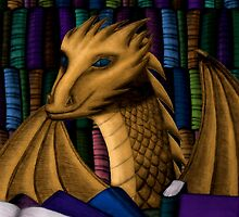 Ravenclaw Dragon - no glasses by shaneisadragon