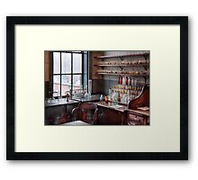 Chemist - Perfume Science  Framed Print