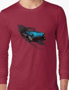 Car Retro Vintage Design Long Sleeve T-Shirt
