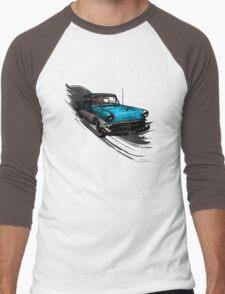 Car Retro Vintage Design Men's Baseball ¾ T-Shirt