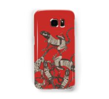 just lizards red Samsung Galaxy Case/Skin