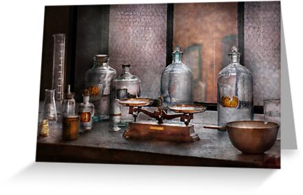 Chemist - The art of measurement  by Mike  Savad
