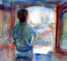 A Portrait A Day 48 - Omar by Yevgenia Watts