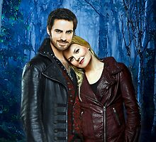 Captain Swan Comic Poster Logoless Design Version 2 by Marianne Paluso