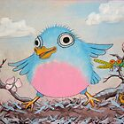 Bluebird and friends 2 - Happy themed critter friends grouping intended for a childs room by TedReeder