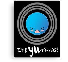 Uranus: It's YU-re-nes Canvas Print