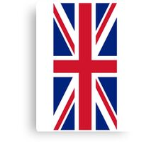 Flag of Great Britain - UK Flag Duvet Cover Sticker and Shirt Canvas Print