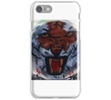 Tiger Plate iPhone Case/Skin