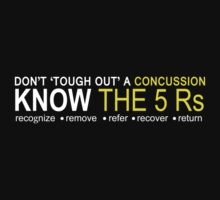 Official USA Rugby Concussion Policy: Know the 5 Rs by Mike Bronson
