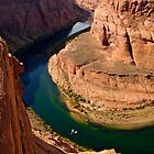 Colorado River at Horse-Shoe Bend by Alex Cassels