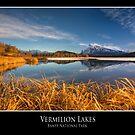 Vermilion Lakes, Banff National Park by mountainpz