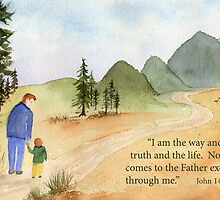 The Way....  John 14:6 by Diane Hall