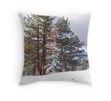 Tahoe Rim Throw Pillow