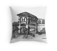 Spanish River Throw Pillow