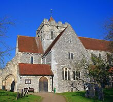 Boxgrove Priory Church of St Mary The Virgin and St Blaise by Dave Godden