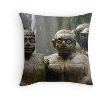 Water Feature- Nusa Dua, Bali Throw Pillow