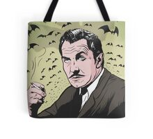 "Vincent Price ""The Bat"" Illustration! Tote Bag"