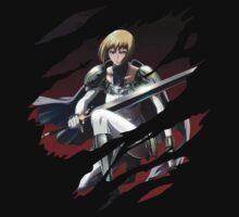 claymore clare anime manga shirt by ToDum2Lov3