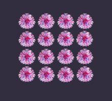 FUNNY FLOWERS ON DARK BLUE  Unisex T-Shirt