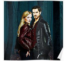 Captain Swan Comic Poster Logoless Design Version 4 Poster