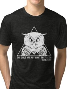 RADIOLEVANO - Twin Peaks - Owl Tri-blend T-Shirt