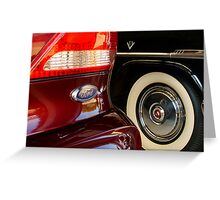 Two Fords Greeting Card