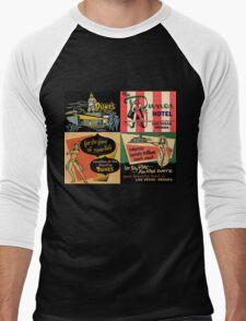 Vintage Matchbook Cover Art Collection #1 T-Shirt