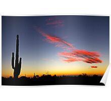 An Arizona Sunset Poster