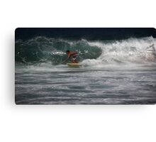 The Surfer Canvas Print