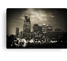 Downtown Nashville Tennessee Canvas Print