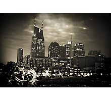 Downtown Nashville Tennessee Photographic Print