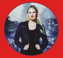 "Emma Swan Comic Poster ""The Savior"" Logoless Design Kids Clothes"