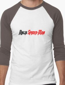 Is That...Ninja Spider-Man? Men's Baseball ¾ T-Shirt