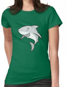 Love sharks/Great white buddy Womens Fitted T-Shirt