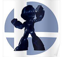 Sm4sh - Mega Man Poster